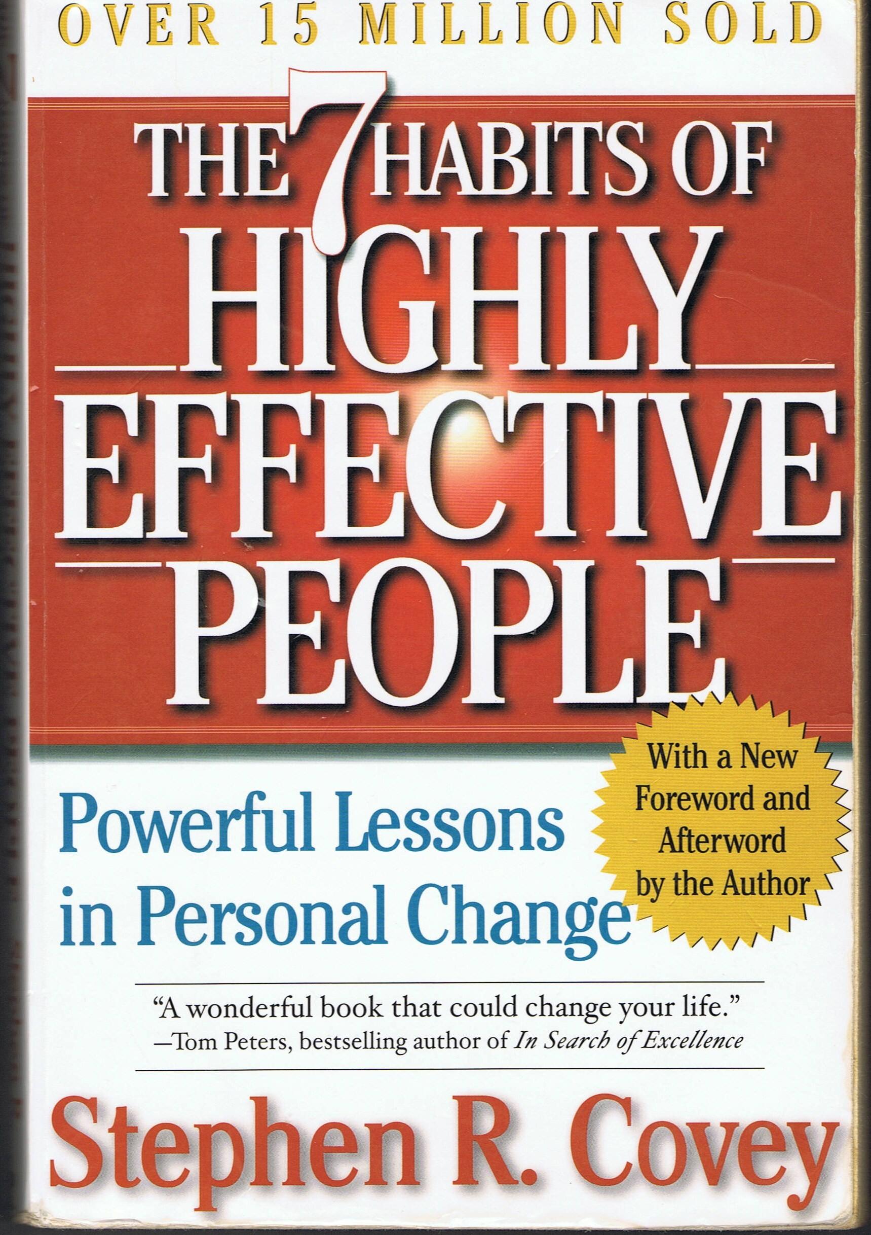 7 Habits of Highly Effective People قراءة في كتاب العادات السبع للناس الأكثر فعالية
