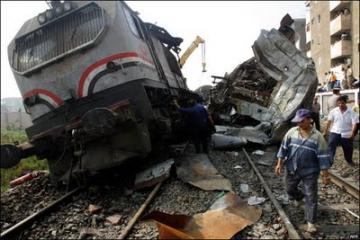 فشل الإدارة المصرية في التعامل مع الوضع الراهن  – حادث قطار اسيوط