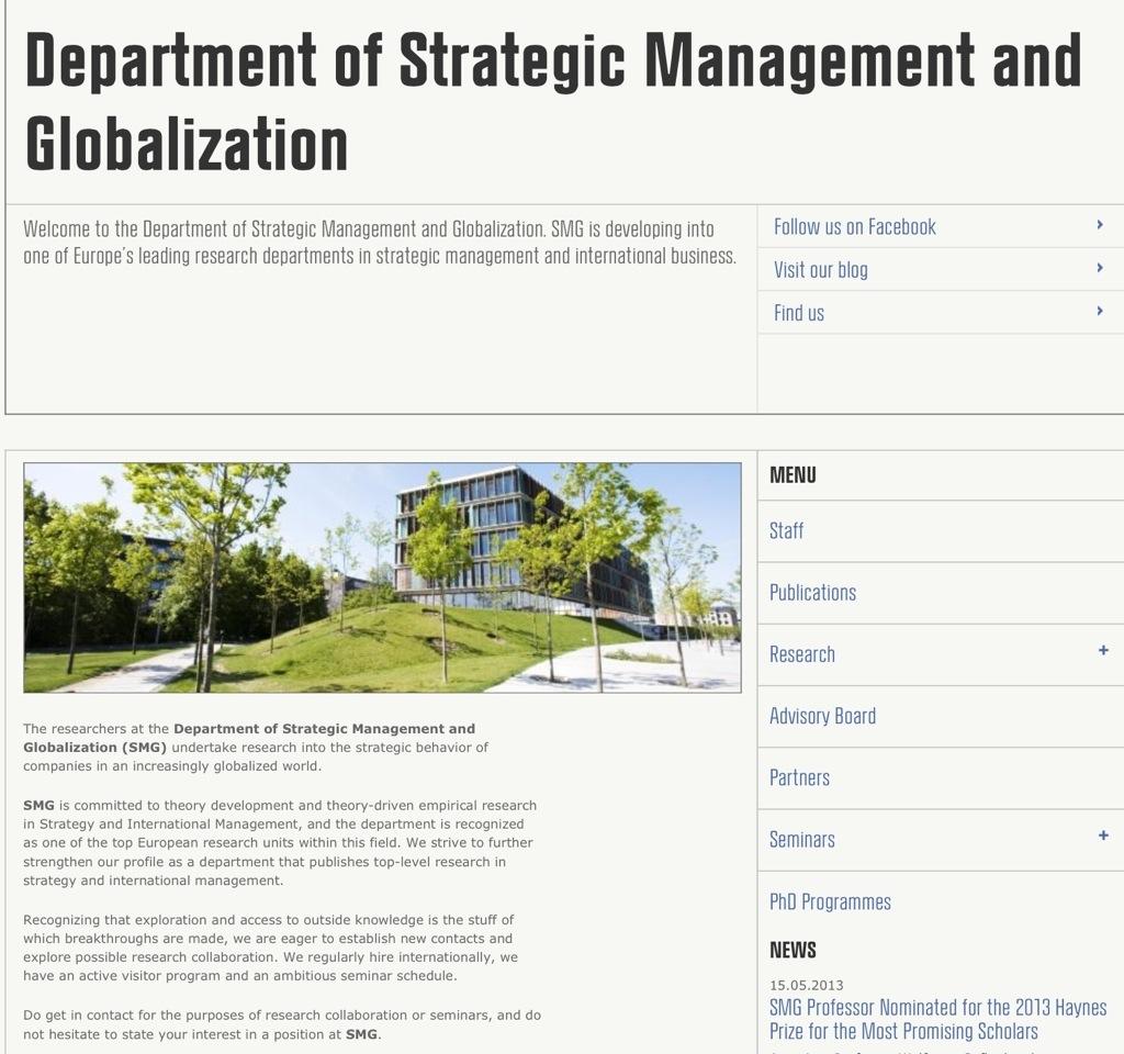 أهم المراكز البحثية في مجال الإدارة