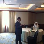 دكتور عبدالرحيم محمد - ورشة عمل التخطيط الإستراتيجي وبناء المؤشرات - جراند حياة  الدوحة  - 15-16 مايو 2013