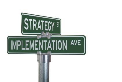 لمحات إدارية – تنفيذ الإستراتيجية