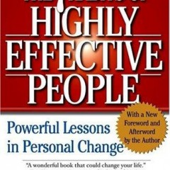 The 7 Habits of Highly Effective People : Book review