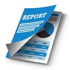 كتابة تقارير  المشروع