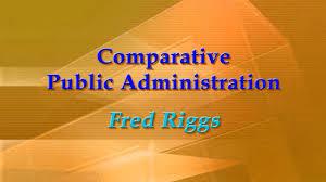 الإدارة العامة المقارنة